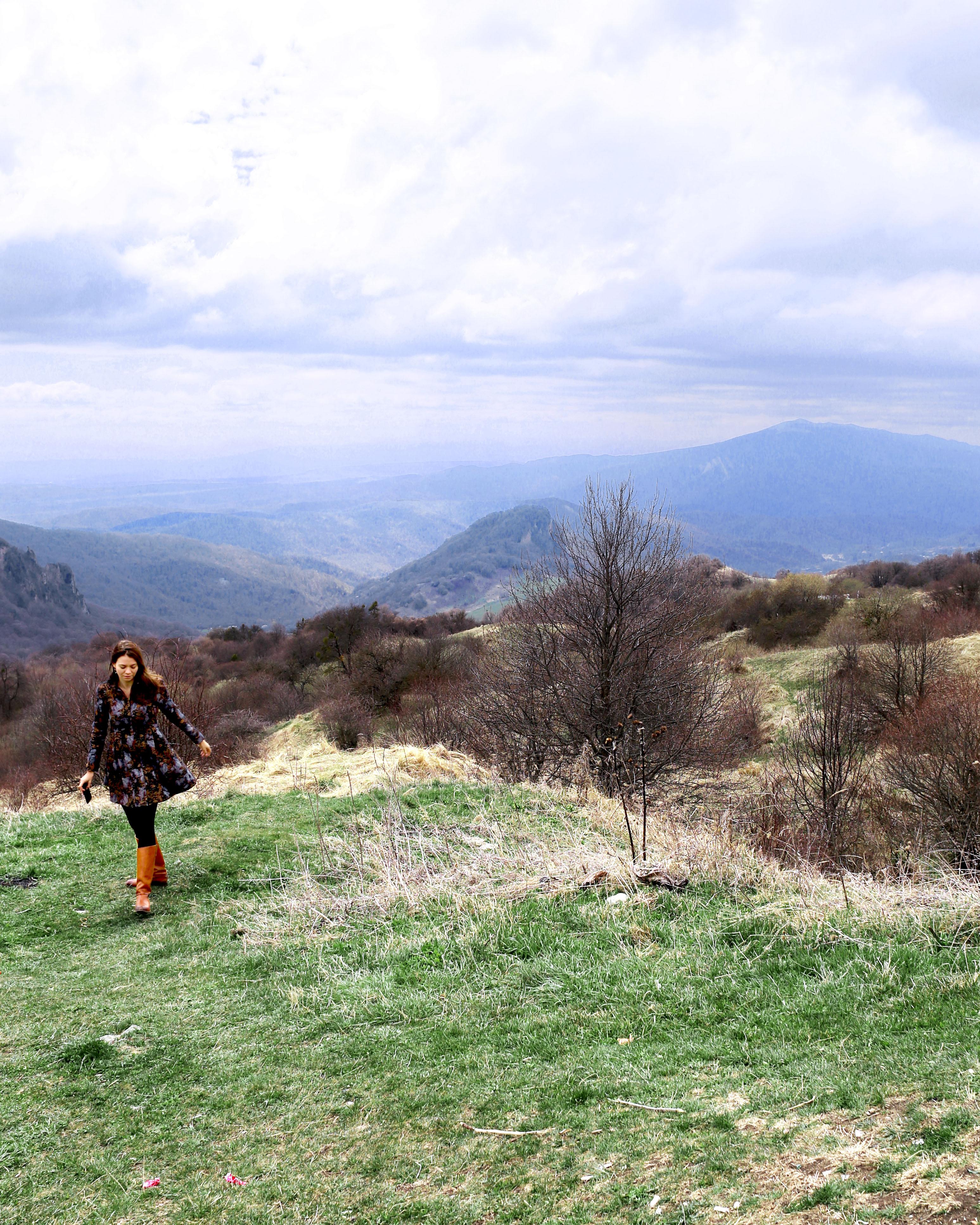 Gombori Pass, Khaketi Region nearby Tbilisi