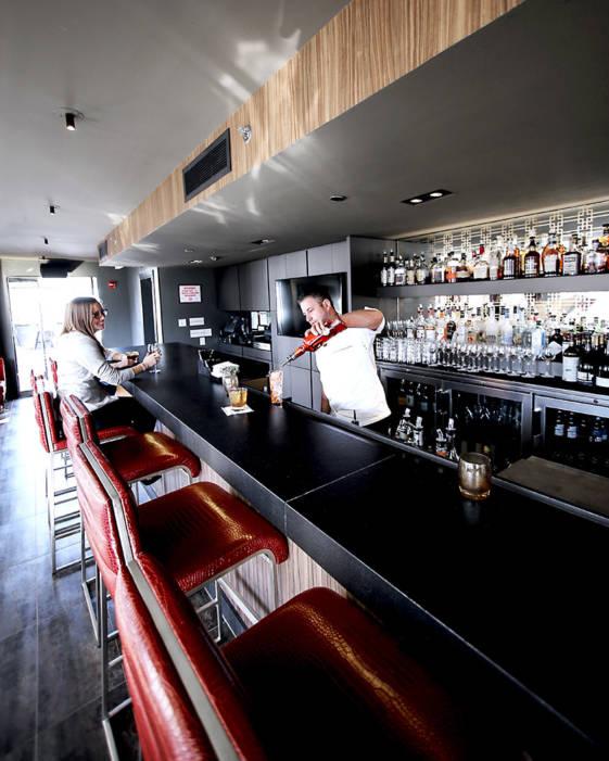cambria hotel indoor bar