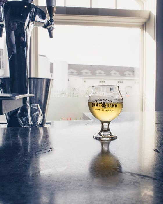 A sample beer image taken on great weekend getaways from NYC