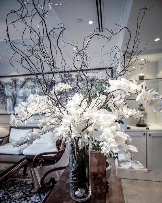 best luxury hotel in singapore, flowers