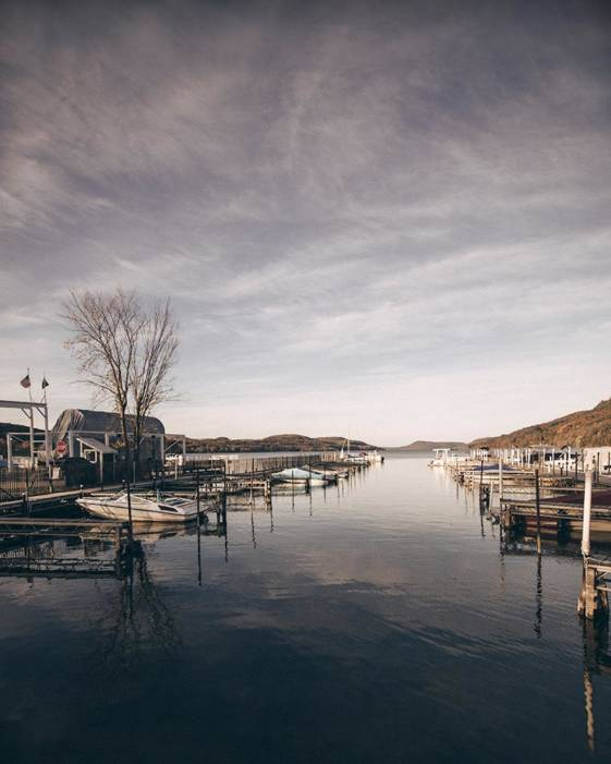 Image of a lake taken during on weekend getaways from NYC