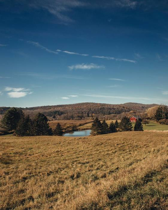 Image of a farm taken during weekend getaways from NYC to Cooperstown