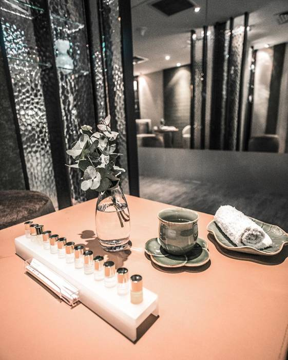 The best luxury hotel in Singapore - The Fullerton offers a great spa