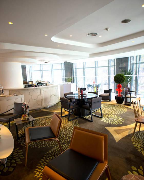 Wangz hotel in singapore - lobby