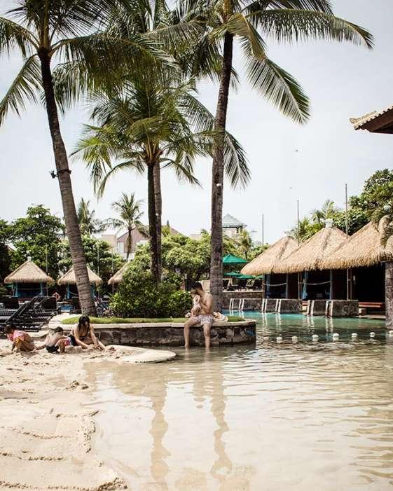 bali resorts hard rock hotel beach pool