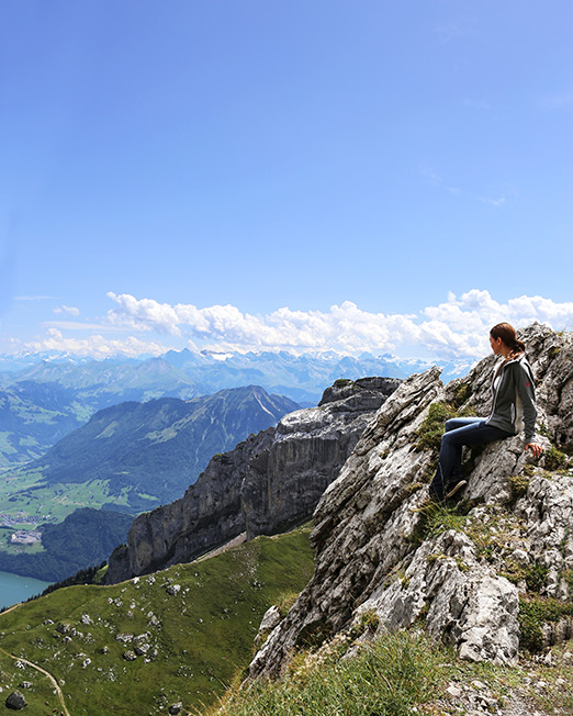 travel photography in switzerland mountains