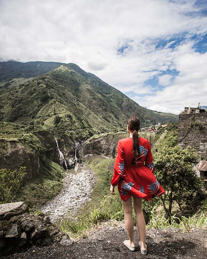 travel photography in ecuador mountains