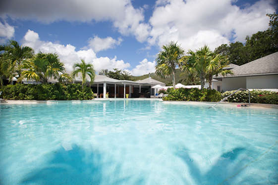pool at carlisle bay hotel