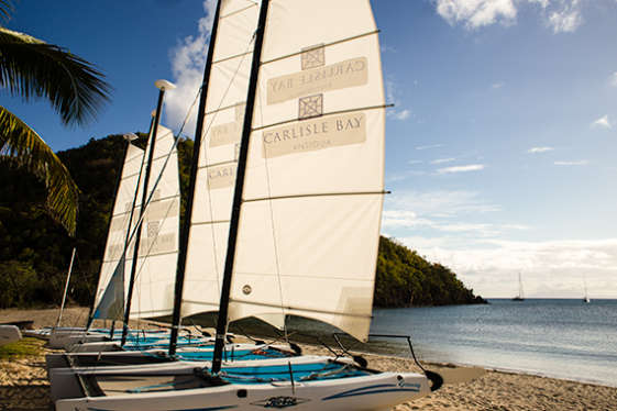 Sailing at Carlisle Bay Hotel Boats