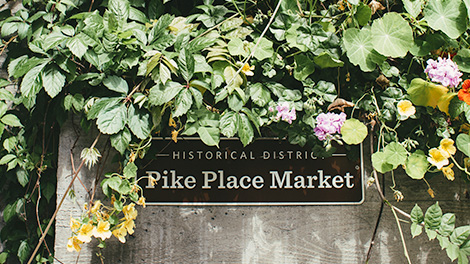 things to do in seattle - pike place market historical district