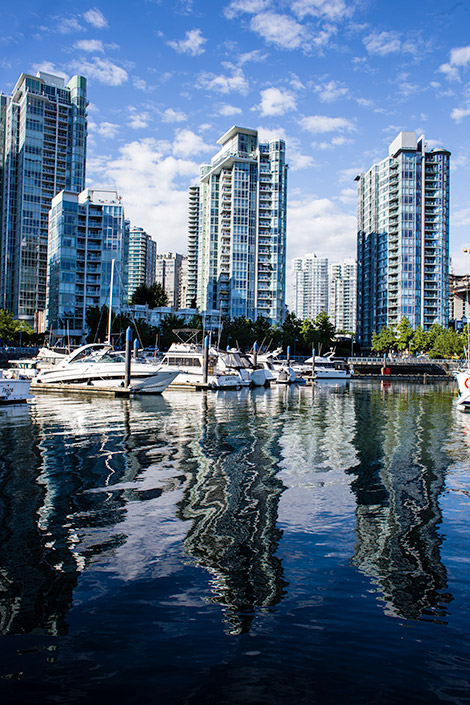 things to do in vancouver - explore the area with aquabus or false creek ferries