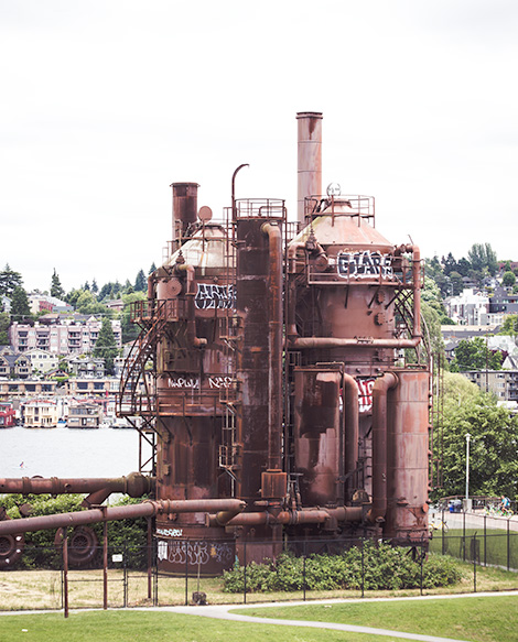 things to do in seattle: visit gas works park