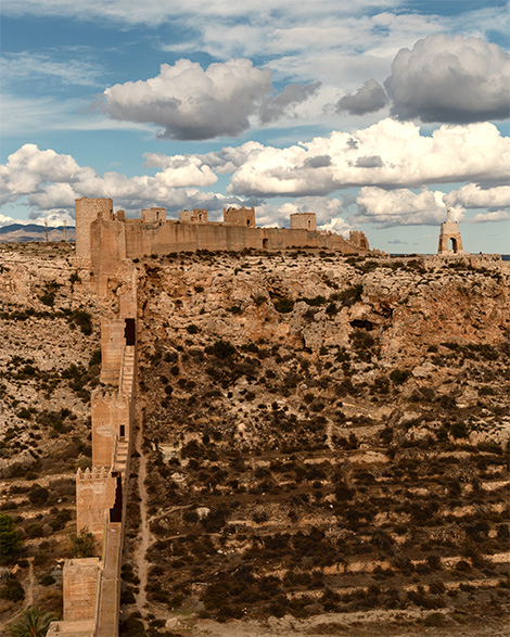 things to do in Almeria - alcazaba of Almeria