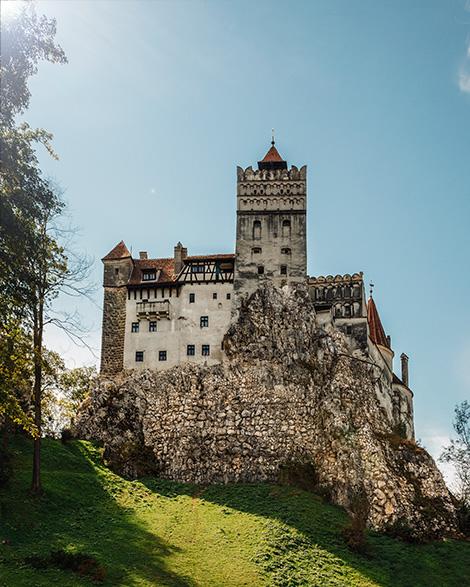 draculas castle bran castle brasov romania transylvania