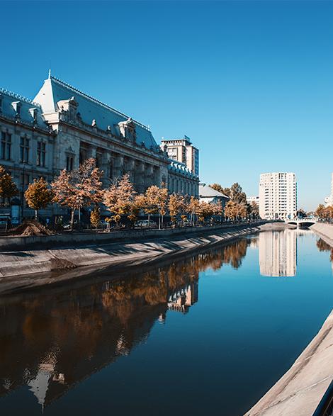 Buchares Romania river