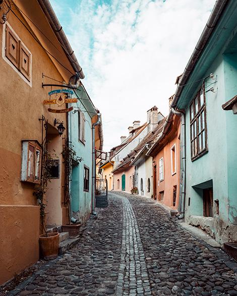sighisoara romania historical district transylvania
