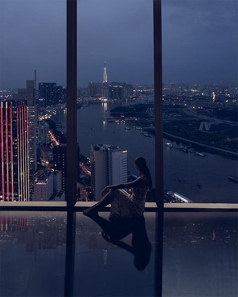 Ho Chi Minh City, Vietnam - the view from Saigon Skydeck