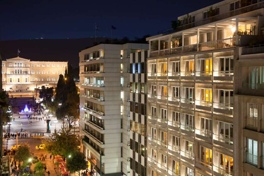 Best Hotels in Athens Greece - The Electra Hotel