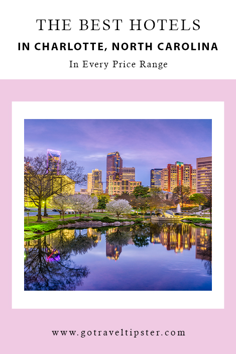 Are you planning a visit to Charlotte, North Carolina?  There are so many things to do in Charlotte - and plenty of hotel options.  Whether you are looking to play a few hours of golf, hotels that work well for kids, downtown or uptown locations, take a look at our favorite hotels in Charlotte - in every price range!