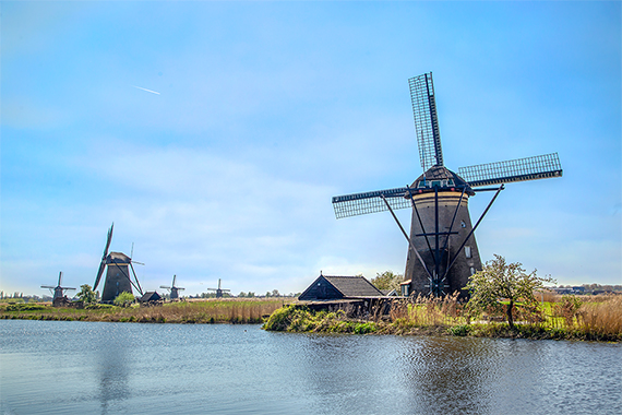 Kinderjik windmills and water, things to do in the netherlands