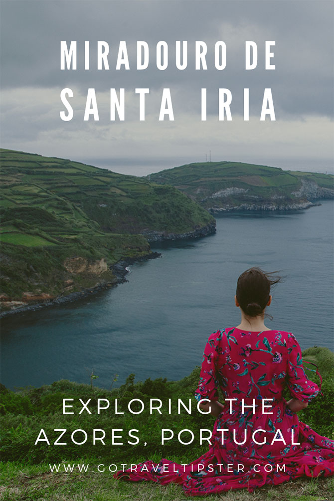 Brunette woman faces ocean and cliffs