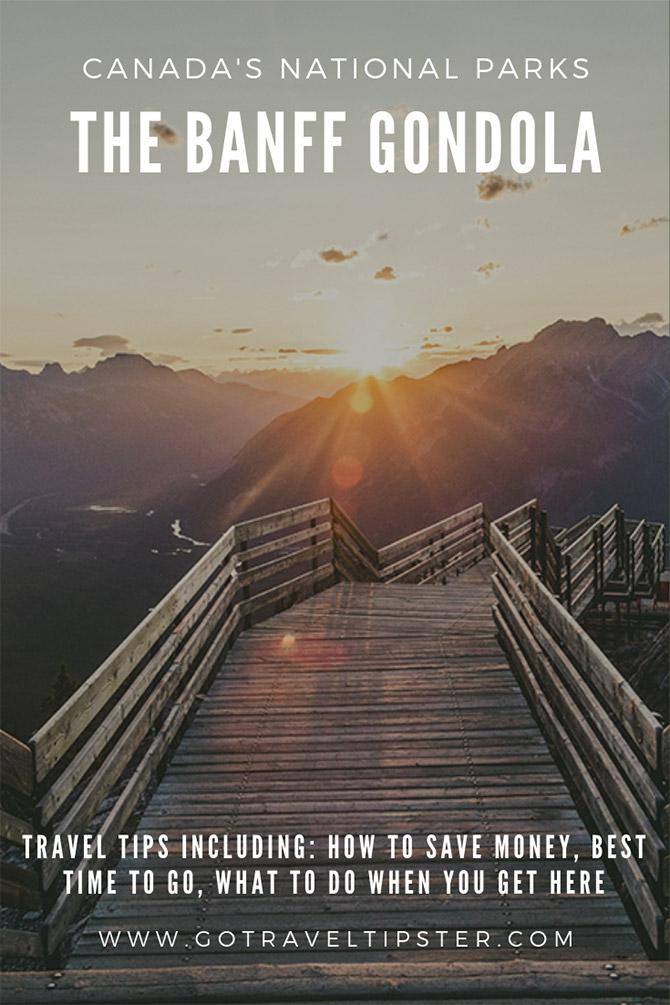 Sunset over the boardwalk to Sanson peak, a Pinterest friendly graphic.