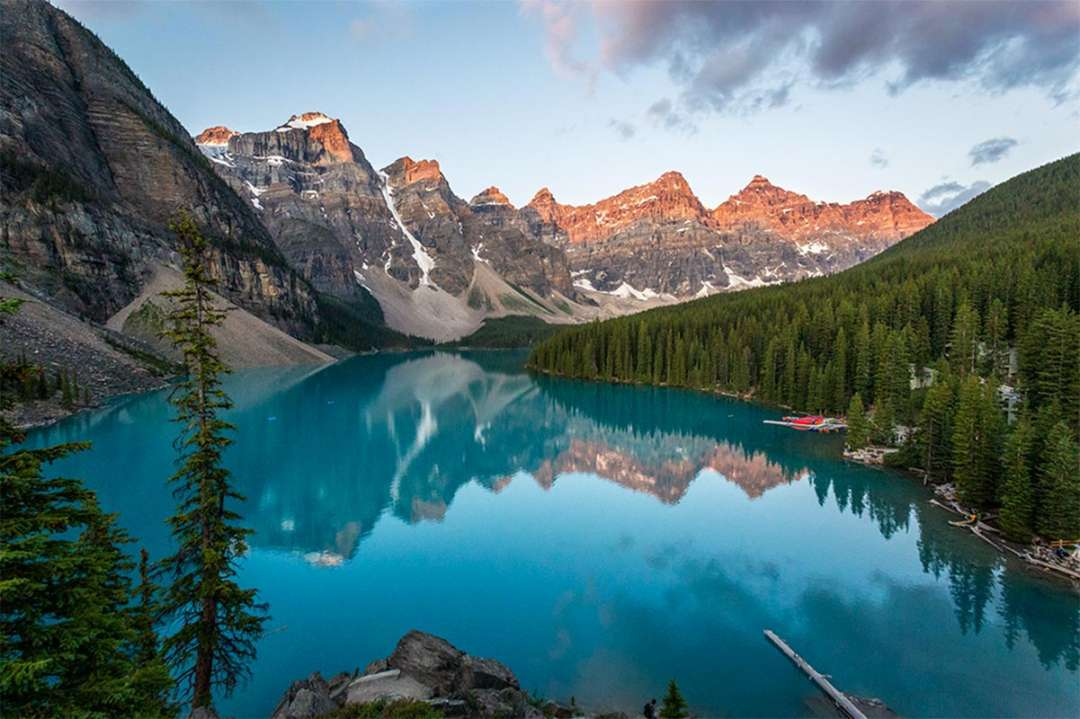 Banff National Park Guide and Map - TRAVELTIPSTER