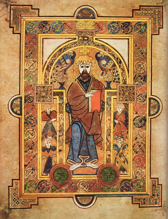 A page from the book of Kells, things to do in Dublin.