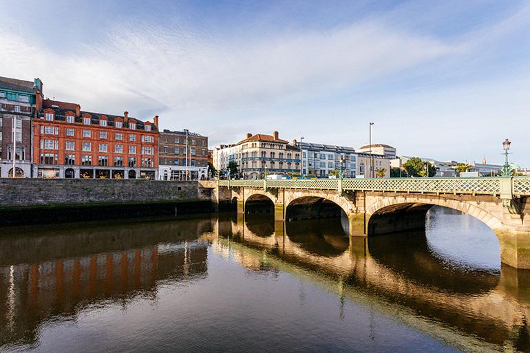 A bridge in Dublin, Ireland