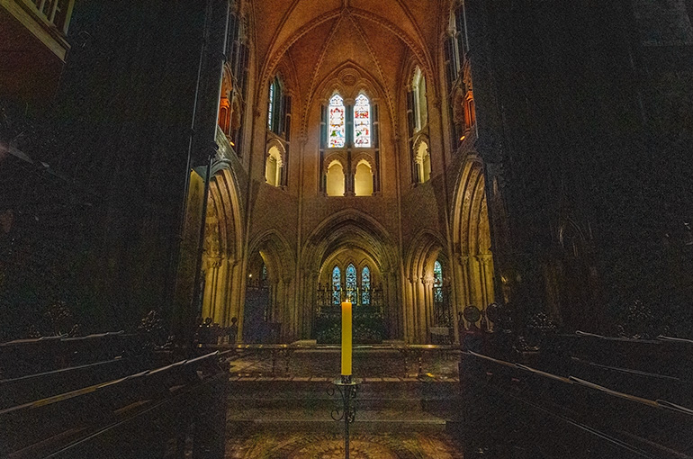 A chappel in the Christ Church Cathedral Dublin.