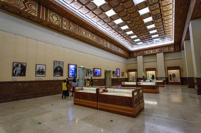 The museum in the CKS Memorial Hall