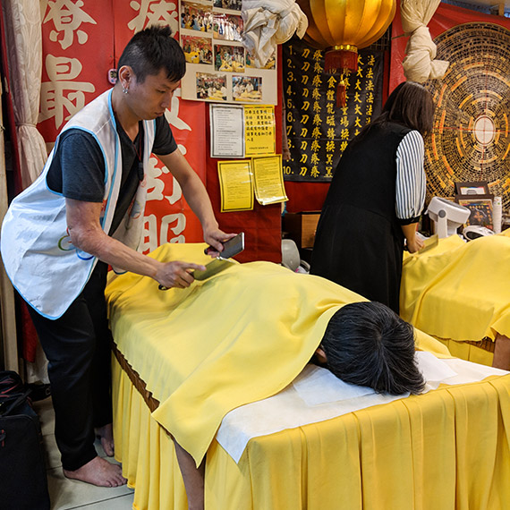 Knife Massage - things to do in Taipei, Taiwan
