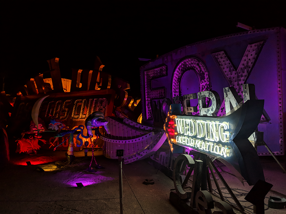 The Neon Lights Museum, a great addition to the Las Vegas itinerary.