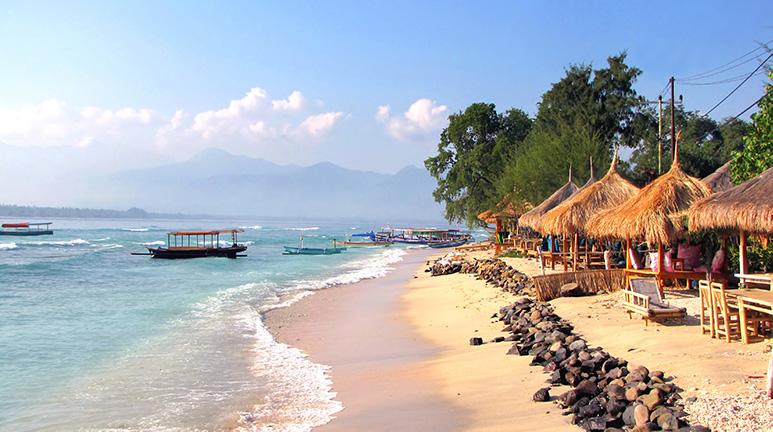 Gili Air Island near Lombok.