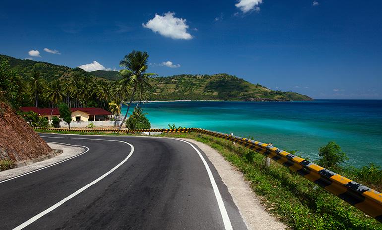 Lombok's great roads.