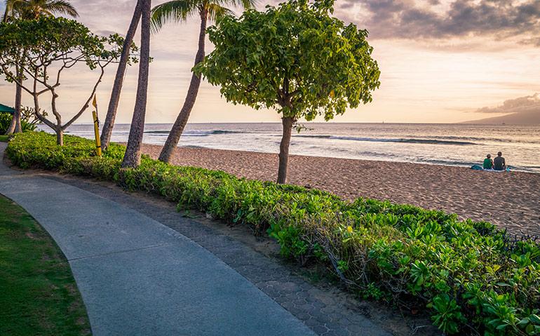 Kaanapali Beach, Hawaii, USA - Maui itinerary 7 days.