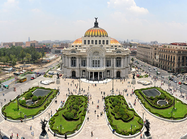 Palacio De Bella Artes, best things to do in Mexico city includes museums