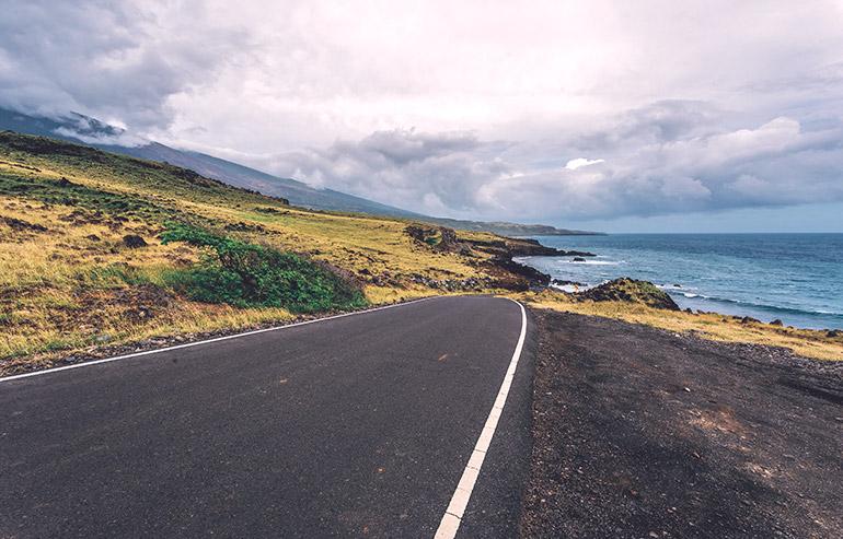 Backroad to Hana in Maui, Hawaii.