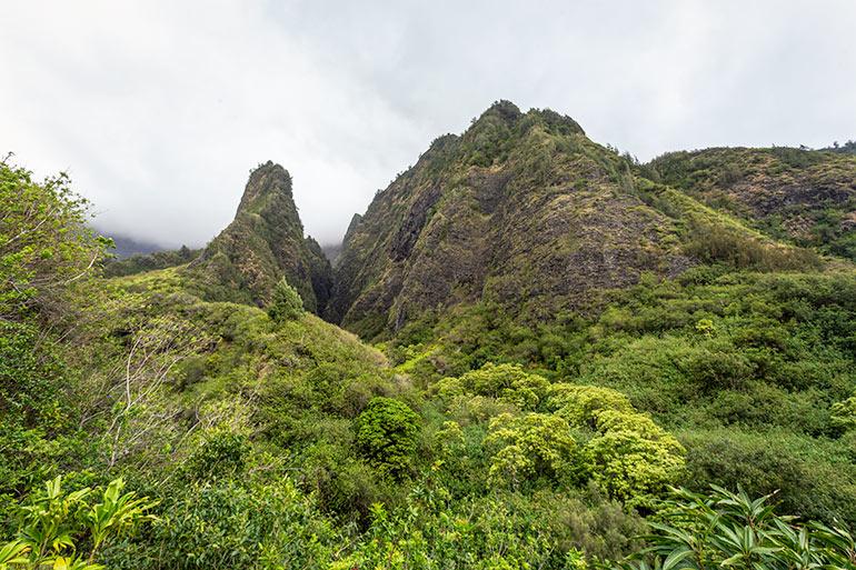 Iao Valley Needle, Maui, Hawaii