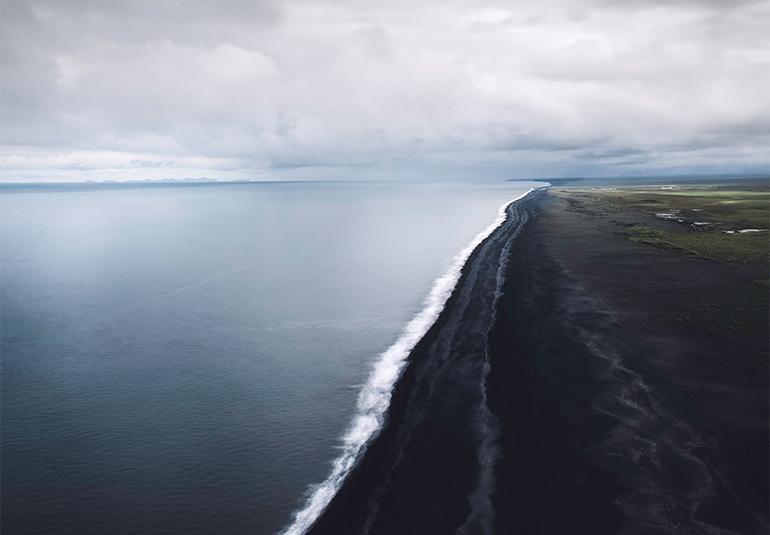 Dyrholaey black sand beach overlook, Iceland travel tips
