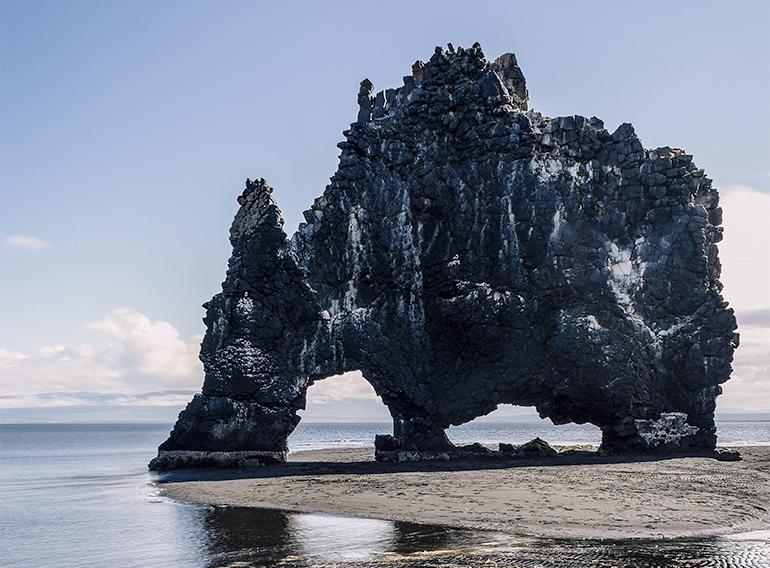 Hviteserkur in Iceland, helpful travel tips and money saving tips.