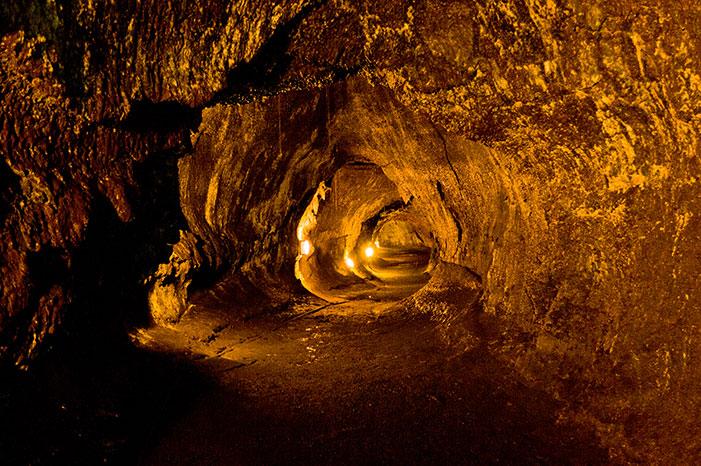 Lava cave on the road to hana, maui