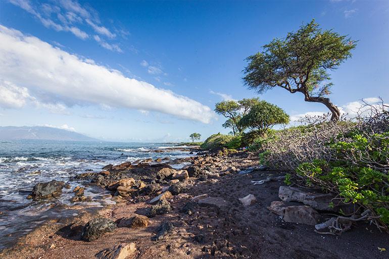 Makena Beach and State Park, Maui, Hawaii.