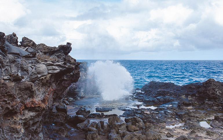 Nakalele Blowhole, Maui Itinerary, Day 6