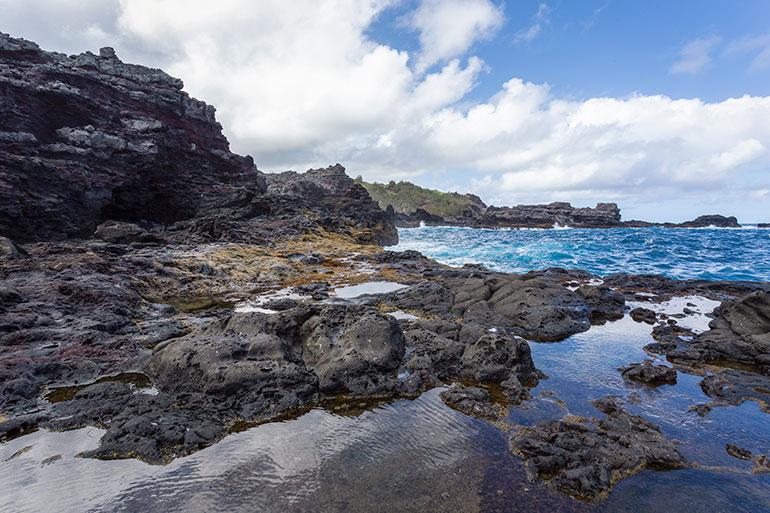Ollivine pools in Northwest Maui, Maui Itinerary Day 6