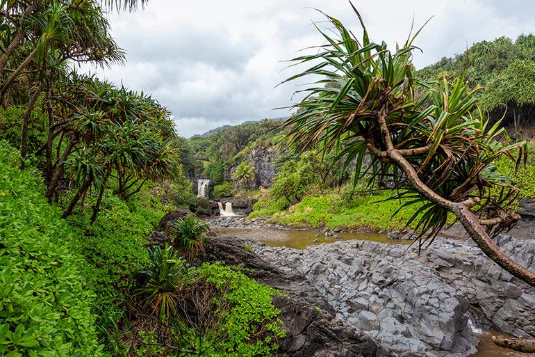 Pools of Oheo, Haleakala National Park, Hawaii, USA.