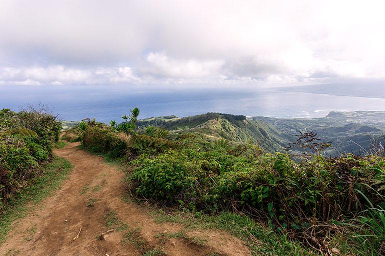 Waihee Ridge Trail, Northwest Maui.