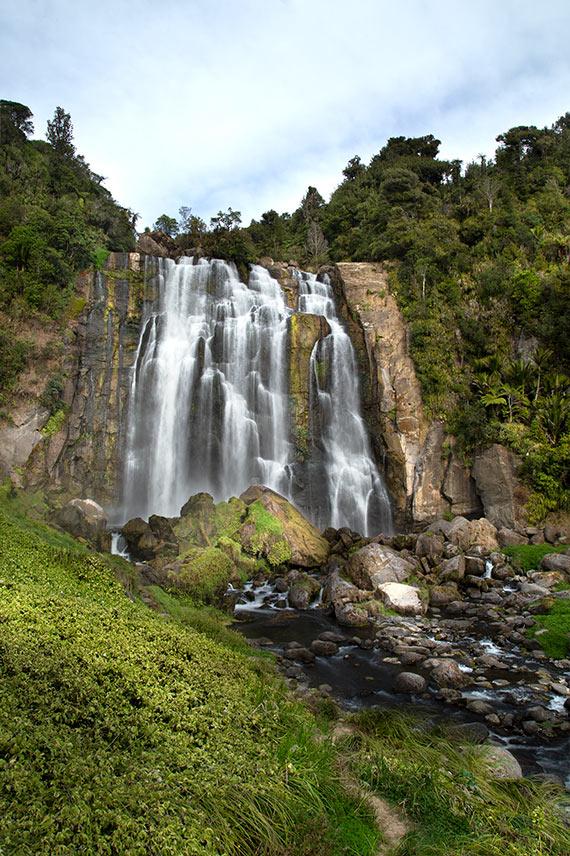 Marikopa Falls, North New Zeland Island.
