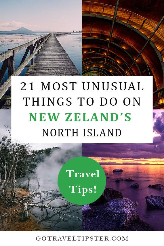 New Zealand North Island pinterest friendly graphic.